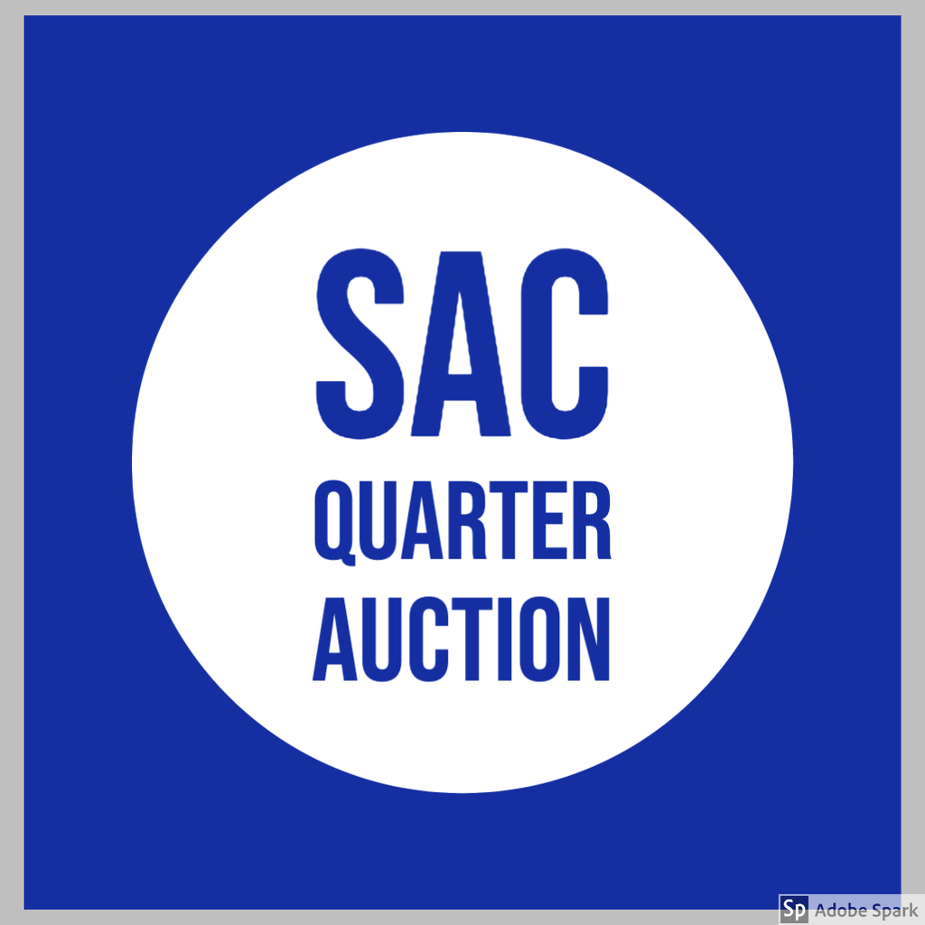 SAC Quarter Auction Logo