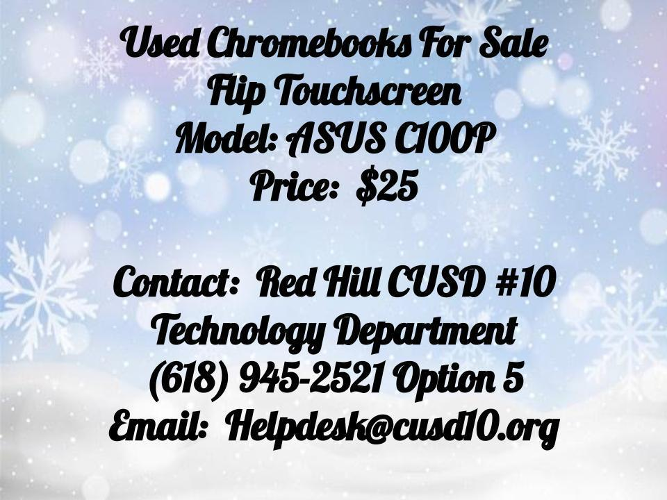 Chromebooks for sale