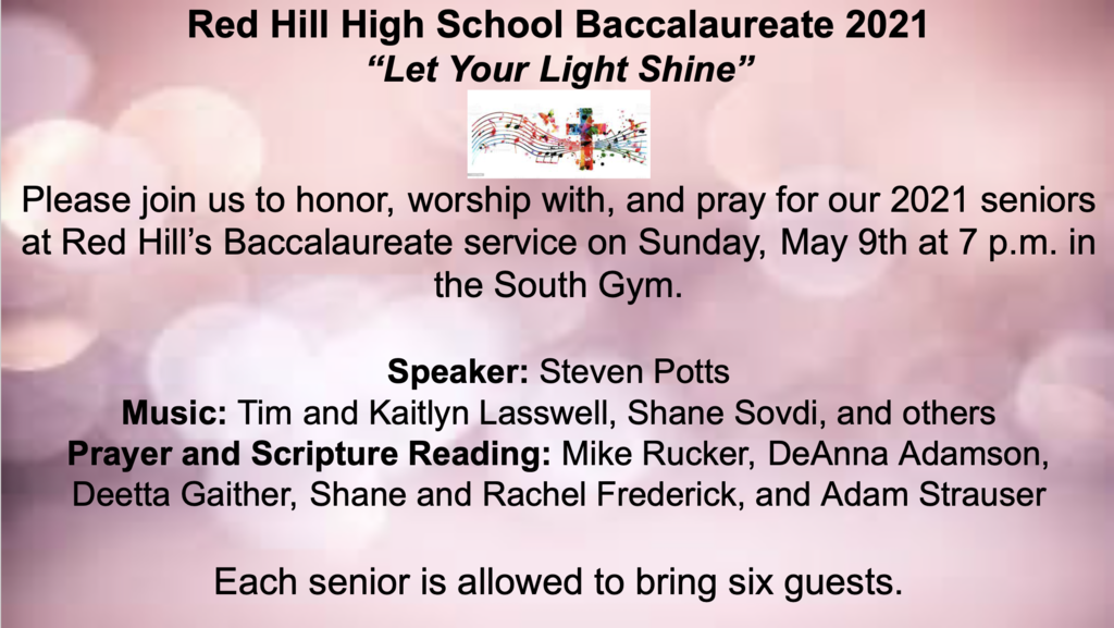 Red Hill High School Baccalaureate 2021