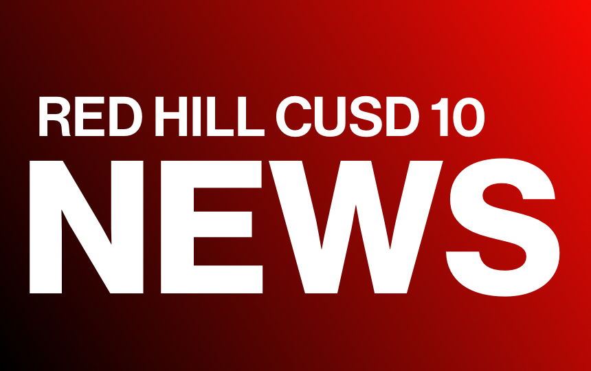 Red Hill CUSD 10 News