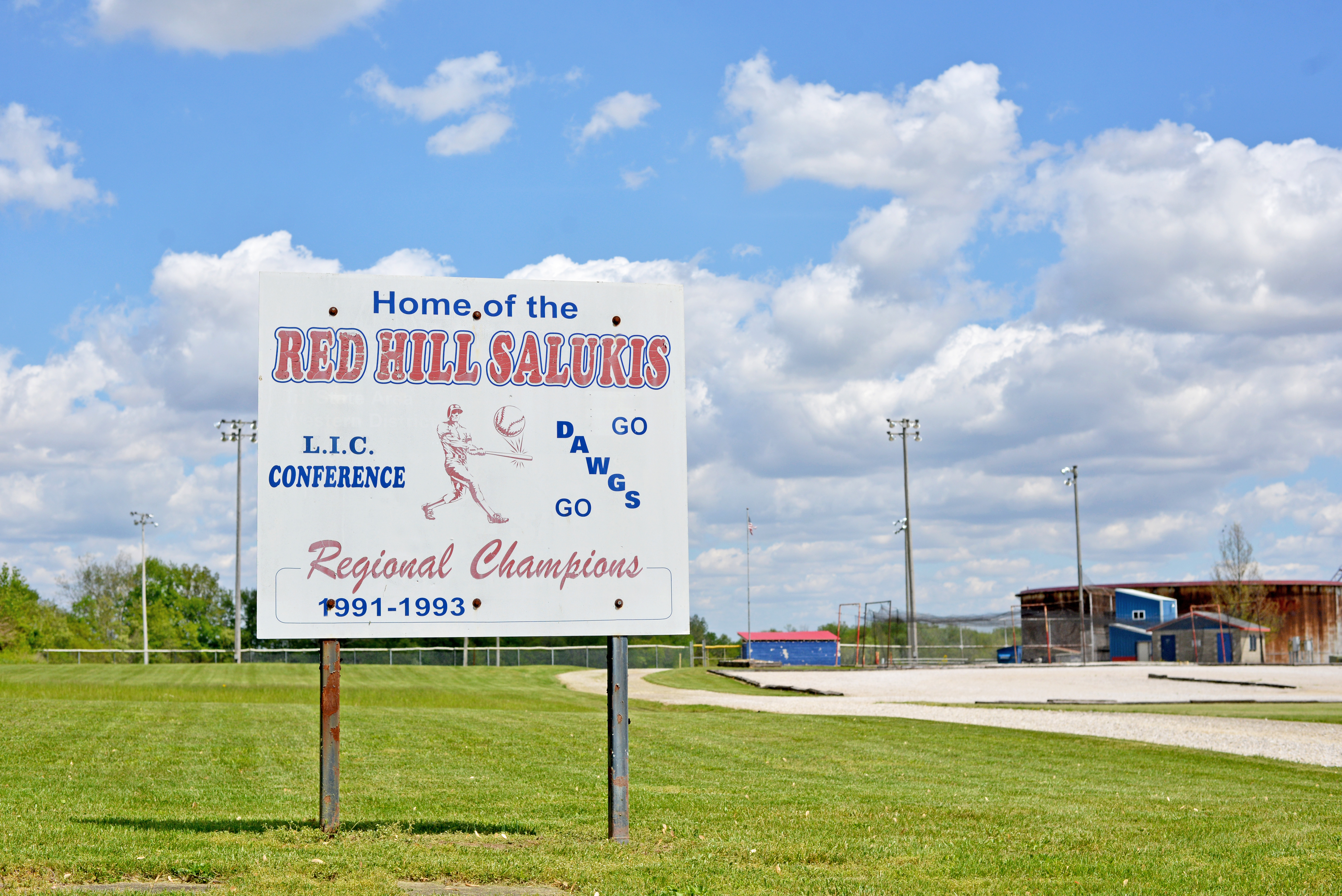 Picture of Red Hill Salukis Baseball and Softball Complex Sign