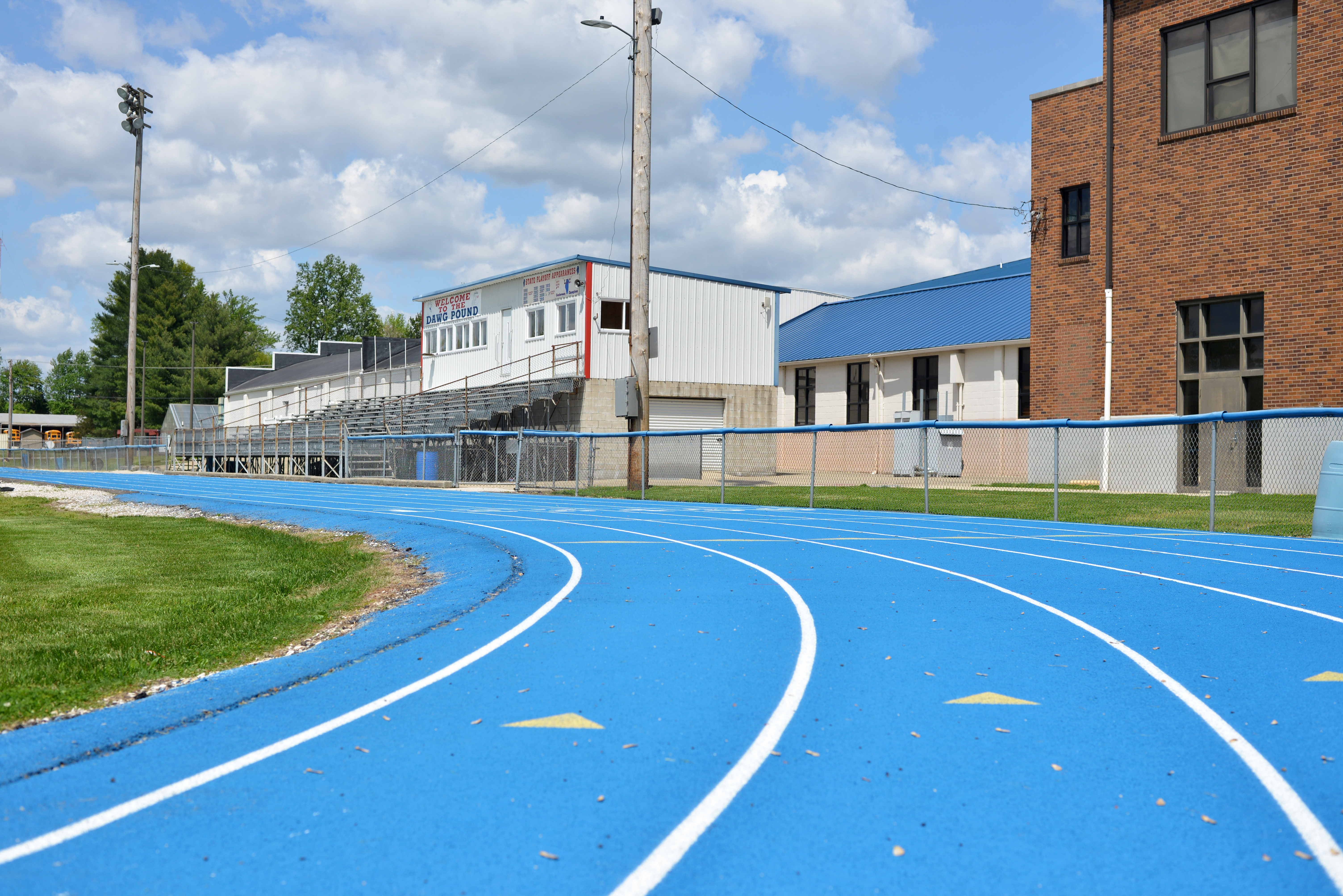 Picture of RHJSHS Track and Press Box