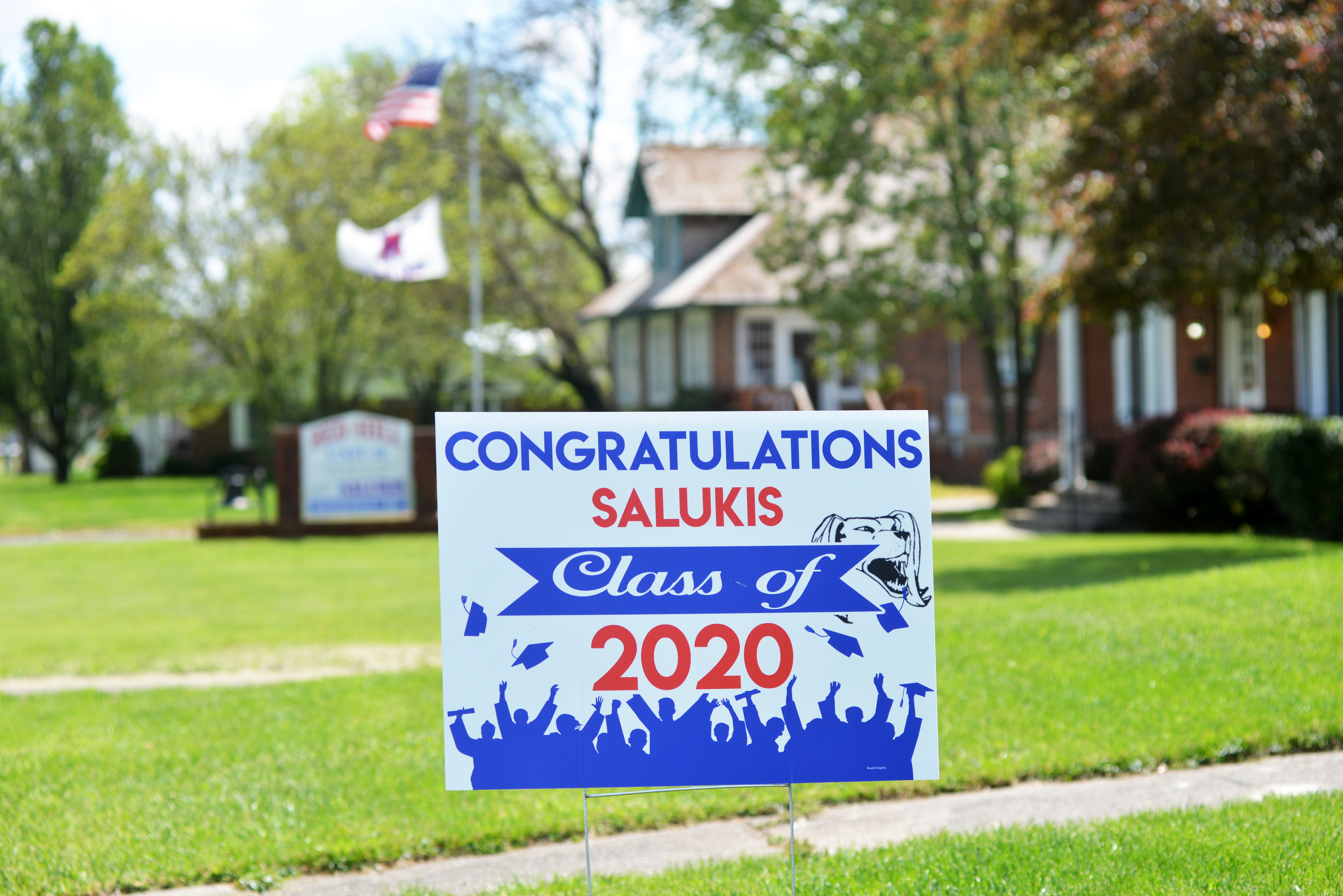 Class of 2020 Graduate sign